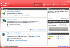 Скриншот Comodo Internet Security